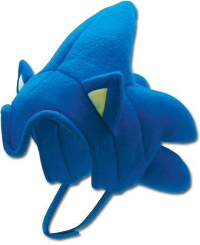 [Sonic The Hedgehog Fleece Hat GE-2380] (Hedgehog Costumes For Kids)