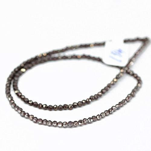 GemAbyss Beads Gemstone Mystic Coated Red Almandine Garnet Loose Rondelle Gemstone Craft Beads 4 Inch Long 3mm Code-MVG-20786