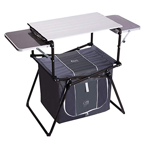 Timber Ridge Camping Kitchen Table Grill Portable With