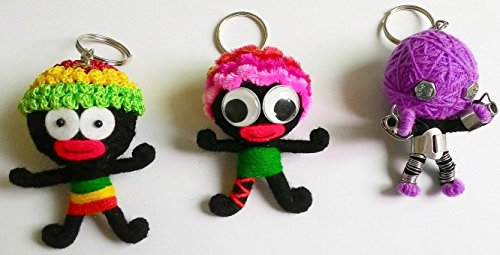New Voodoo Doll String Magic Thai Handmade Keychain Keyring Gift By Voodoo Doll