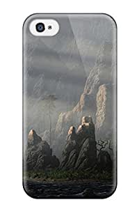 Hot Tpu Cover Case For Iphone/ 4/4s Case Cover Skin - The Landscape