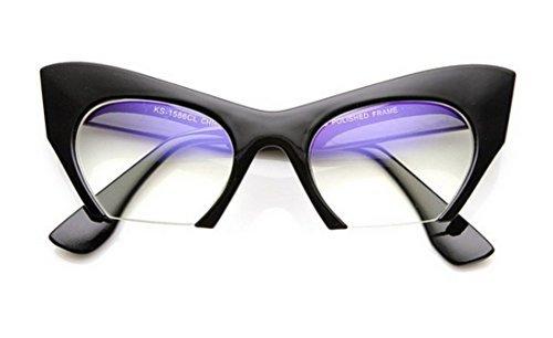 Cateye or High Pointed Eyeglasses or Sunglasses Vintage Inspired Fashion (Fashion Cut Away (High Eye)