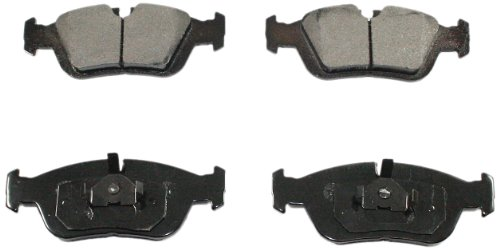 DuraGo BP558 C Front Ceramic Brake Pad (Pads Bmw Brake 325i)