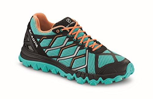 Scarpa Proton Womens Alpine Zapatillas Para Correr - SS17 SpecialFeatures*MALDIVE-BLACK