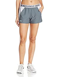 Short para Mujer UA Play Up 2.0 - Under Armour, 1292231-025, grey, MD