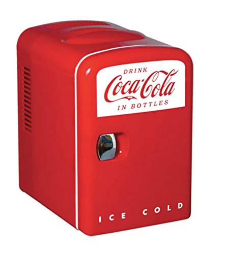 Koolatron Cocoa-Cola Personal 6-Can Mini Fridge by Coca-Cola