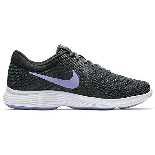 Nike Women's Revolution 4 Running Shoe Anthracite/Twilight Pulse/Black Size 8.5 M US