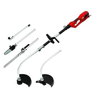 Racing rac4in1e herramienta multifunción eléctrica élagueuse/cortasetos/Dresse borde/desbrozadora, 900 W, 240 V, rojo