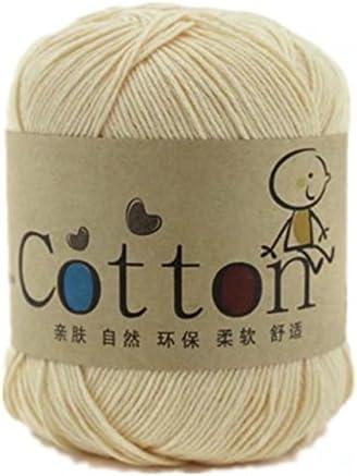 Generic - Hilo de algodón natural para bebé, lana para tejer: Amazon.es: Hogar