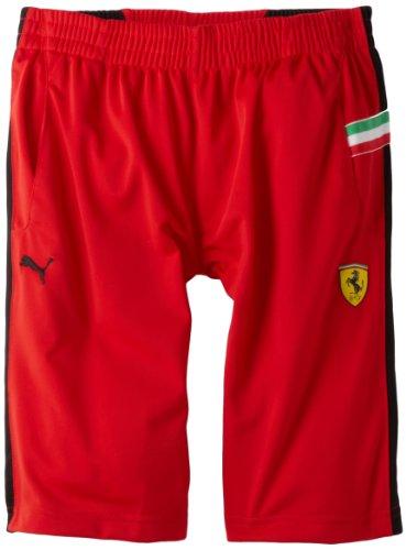 PUMA Big Boys' Ferrari Short, Red, Small