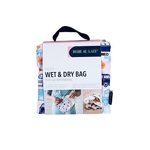 Bebe au Lait Petite Wet and Dry Bag, Monroe