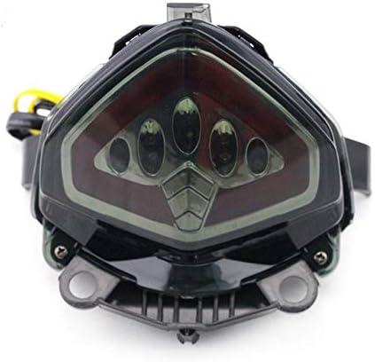 LED Tail feu Stop Turn Signal for Honda CB500F CBR500R CB500X CB400X CBR400R 2013-2015 14 Motorcycle int/égr/é Clignotants Lampe FJJ-DENG Couleur : Rouge