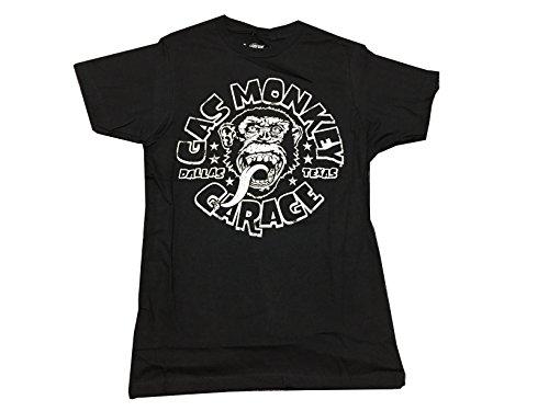 Ptshirt.com-19423-Gas Monkey Garage Men\'s and White Logo Fast N\' Loud Texas T Shirt-B0145HKSAA-T Shirt Design