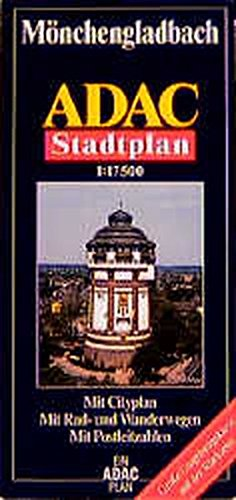 ADAC Stadtplan Mönchengladbach (ADAC Stadtpläne)