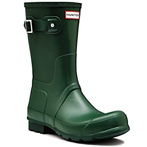 Amazon.com : Mens Hunter Original Short Winter Wellingtons Snow ...