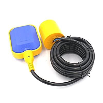 Baomain 4M Cable Float Switch Water Level Controller for Tank Pump