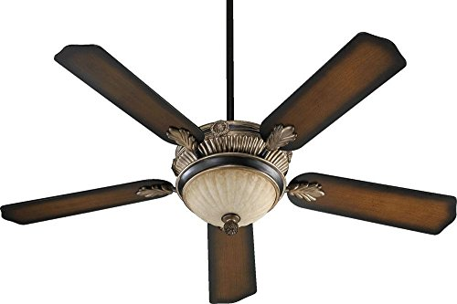 Three Light Old World With Antique Flemish Ceiling Fan 48525-995 ()