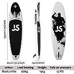 11-Surf-SUPInflatable-Stand-up-Paddle-BoardTavola-da-Surf-SUP-per-PrincipiantiSurf-Board-SUP-KitCarico-Massimo-Intermedio-150-kg-335cm82cm15cm