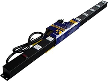 36 9 Outlet Metal Power Strip