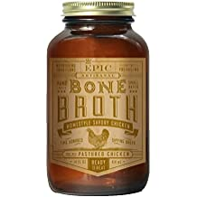 Epic Bone Broth, Homestyle Savory Chicken, 14 Ounce (Pack Of 6)
