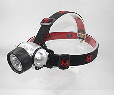 LED Headlamp Flashlight Hands Free Nightlight Camping Gear Emergency Kits Running Hiking