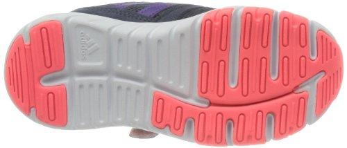 Adidas Fluid Conversion CF K Klett Kinderschuhe Trainingschuhe Laufschuhe Indoor Hallenschuhe dunkelblau/lila/pink/weiß