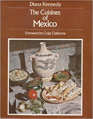 Cover of The cuisines of Mexico featuring several dishes and pottery.