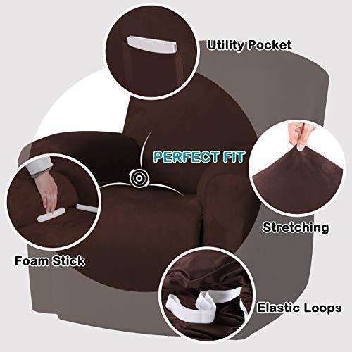 Amazon.com: Funda para sillón reclinable de color turquesa ...