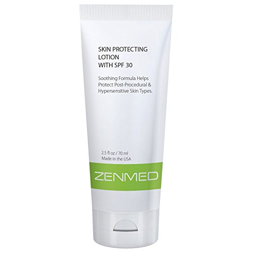 ZENMED Skin Protecting Lotion SPF 30 - with Hyaluronic Acid, Zinc Oxide, Vitamin C