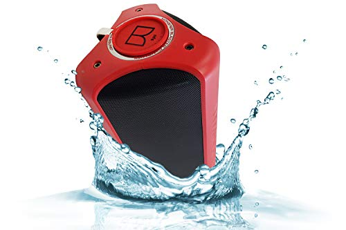 Monster Dynamite IPX7 Waterproof - Bluetooth Wireless Speaker High Performance Portable Bluetooth NFC Pair Wireless with Carrying Strap & Key AUX Wire (Retail Packing)