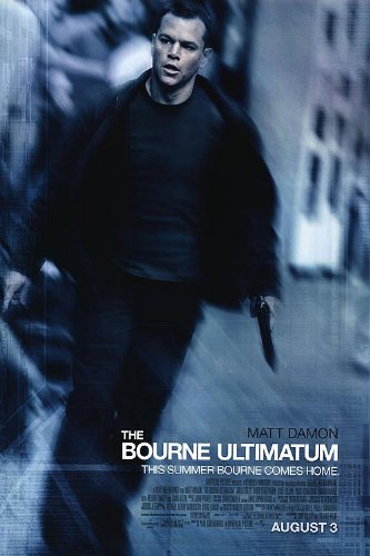 Image result for movie poster bourne ultimatum