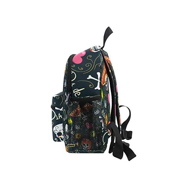 Zaino a forma di teschio, floreale, per la scuola, per ragazzi e ragazze, per bambini, da viaggio, da 3 a 8 anni 4 spesavip