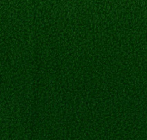 "Hunter Green Anti Pill Solid Fleece Fabric, 60"" Inches Wide – Sold By The (Wool Fleece Fabric)"