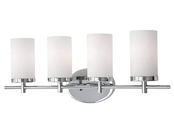 4 light bathroom fixture bathroom home depot light bathroom fixture in chrome with glass white opal
