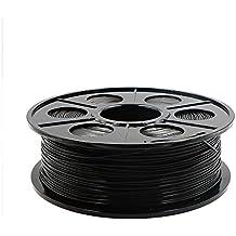 Hackka 1.75mm 1KG/2.2lb Black PA Nylon 3D Printing Filament