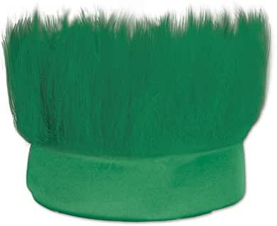 Beistle 60277-G Hairy Headband, One Size, Green