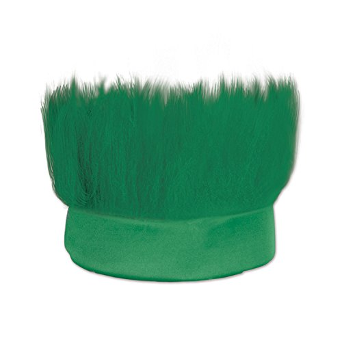 Beistle 60277-G Hairy Headband, One Size, Green -