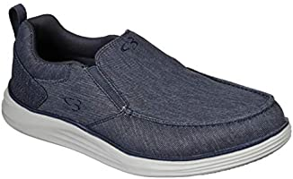 Concept 3 by Skechers Men's Halger Canvas Slip-on Sneaker