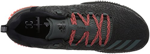 adidas Frauen Crazypower TR W Cross Trainer Schwarz / Rot Nacht / Easy Coral