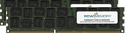 IBM 16GB [2x 8GB] PC3-8500 DDR3-1066 4Rx4 ECC Registered RDIMM Memory Kit (IBM Part #8205-EM16)