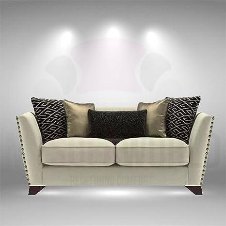 Nazca nuevo diseño 2 plazas Sofá con gran comodidad: Amazon ...