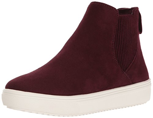 STEVEN by Steve Madden Women's Coal Fashion Sneaker, Burgundy, 8 M US