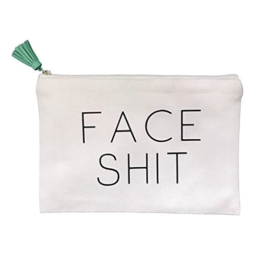 Face Shit Makeup Bag w/Tassel by The Sleepy Cottage