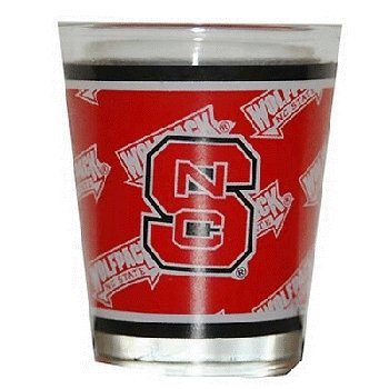 NCAA North Carolina State Wolfpack Shotglass - Wolfpack Glass