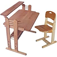 Childrens Wooden Adjustable Desk Schoolboy (23.6x35.4 in)