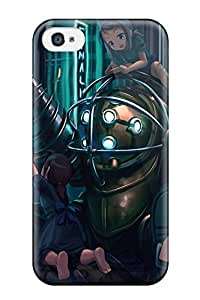 DanRobertse EqiRkbL4803KxNOO Case Cover Iphone 4/4s Protective Case Big Daddy Bioshock Drill