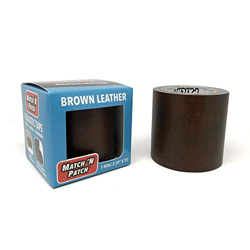 Match 'N Patch Realistic Brown Leather Repair Tape (Newer Version) -