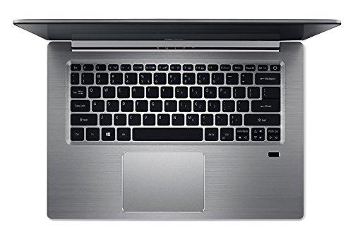 Acer Swift 3 SF314-52-87SW Notebook con Processore Intel Core i7-8550U, Ram 8 GB DDR4, 256 GB Intel PCIe SSD, Windows 10 Home, 14″ FHD IPS LCD, Silver