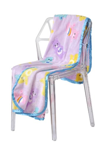 American Greetings Care Bears Microplush Throw Blanket, 50 x 60