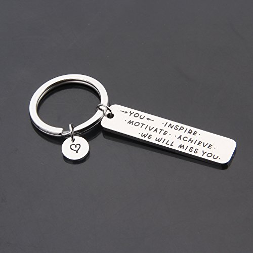 ENSIANTH Coworker Retirement Gift Coworker Keychain Going Away Gift for Retired Colleague Best Friends (Coworker Keychain) by ENSIANTH (Image #2)
